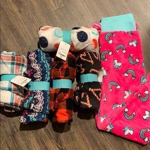 Girls fleece pajama pants